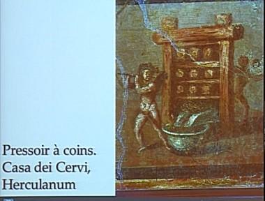 Pressoir à coins Herculanum